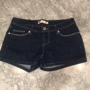 Levi's Dark Denim Jean Shorts